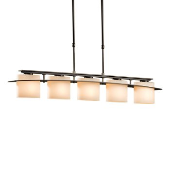 Large-Scale Arc Ellipse 5-Light Adjustable Pendant