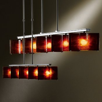 Large-Scale Exos Wave 5-Light Adjustable Pendant