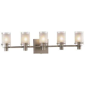 5000 Series Bath Bar (5 Light/Nickel) - OPEN BOX RETURN