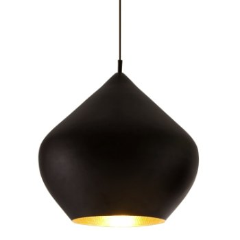 Beat Light Black Pendant - Stout