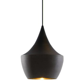 Beat Light Black Pendant - Fat