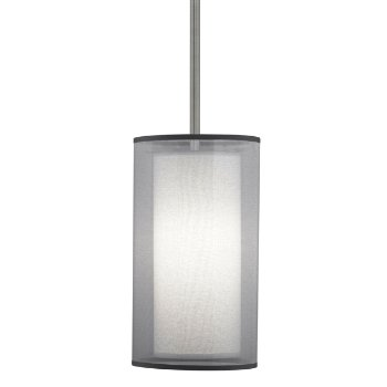 Saturnia Narrow Pendant (Steel/Silver) - OPEN BOX RETURN