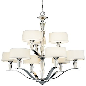 Crystal Persuasion 2-Tier Chandelier