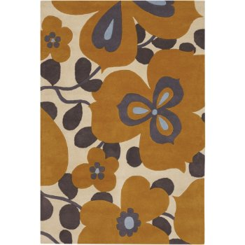 Morning Glory Wool Rug