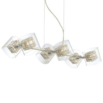 Jewel Box 6-Light Linear Suspension