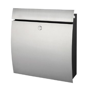 SIGNO Letter Box (Stainless Steel) - OPEN BOX RETURN