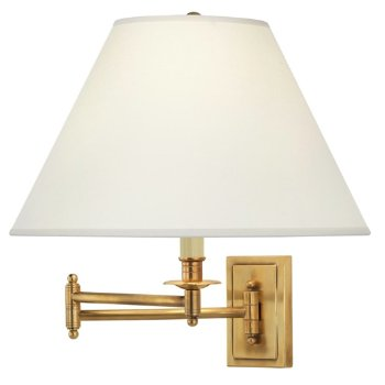 Kinetic Brass Wall Sconce
