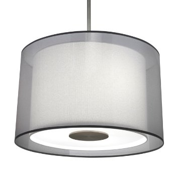 Saturnia Drum Pendant By Robert Abbey At Lumens Com