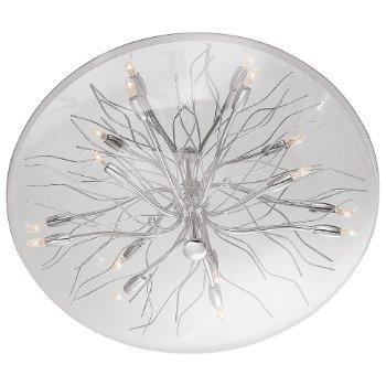 Sol Glass Dome Flushmount