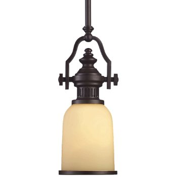 Chadwick Mini Pendant with Glass Shade