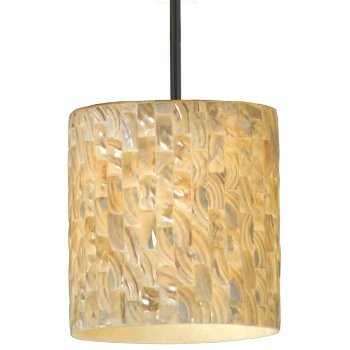 Sustainable Shell Naturals Stem Pendant
