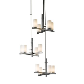 Ondrian Tiered Multi-Light Suspension