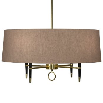 Ventana Single-Tier Chandelier (Brass) - OPEN BOX RETURN