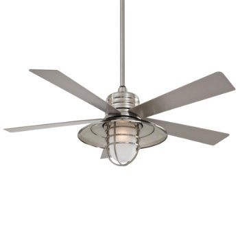 Rainman Ceiling Fan (Nickel/Silver) - OPEN BOX RETURN