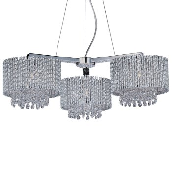 Spiral 3-Light Chandelier