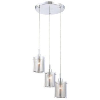 Grid II 3-Light Pendant