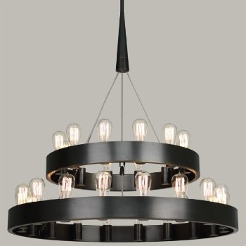 Candelaria 2 Tier Chandelier By Robert Abbey At