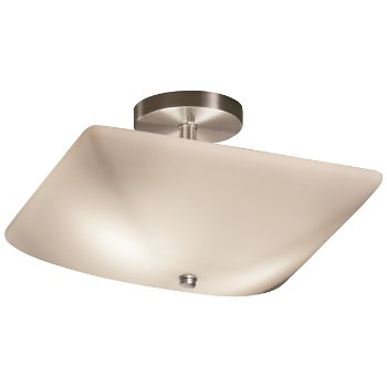 Fusion Square Semi-Flush Bowl