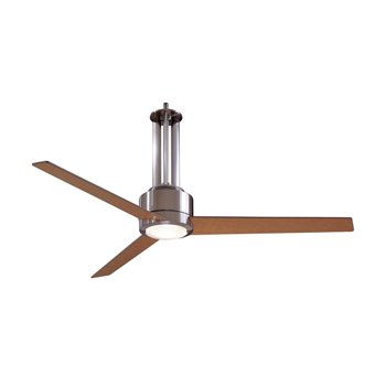 Flyte Ceiling Fan (Nickel/Maple) - OPEN BOX RETURN