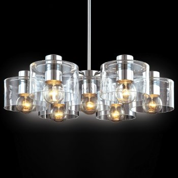 Transparence 7-Light Round Chandelier