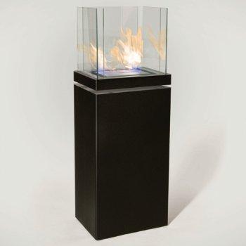 High Flame Fireplace