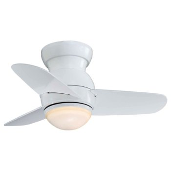 Spacesaver Ceiling Fan (White) - OPEN BOX RETURN