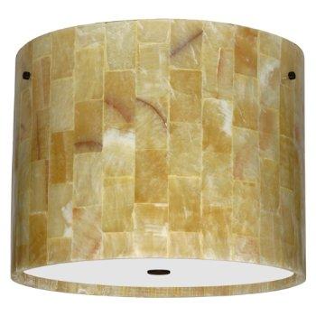 Tamburo Mosaic Onyx Flushmount