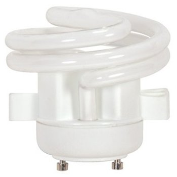 13W 120V T2 GU24 Spiral Squat CFL Bulb