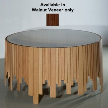 Clinker Coffee Table (Walnut Veneer) - OPEN BOX RETURN