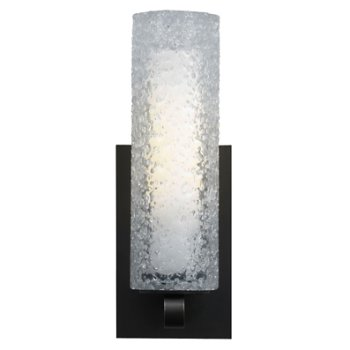 Mini-Rock Candy Cylinder Wall Sconce