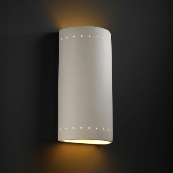 Cylinder Outdoor Wall Sconce