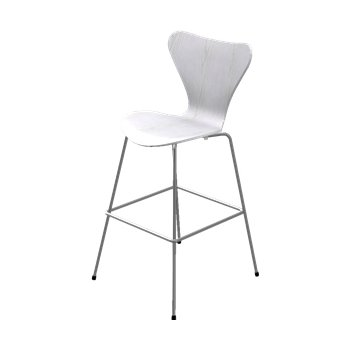 Series 7 Bar Stool - Lacquered