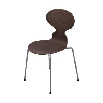 Ant 4 Leg Chair - Natural Veneer