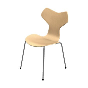 Grand Prix Chair - Natural Veneer