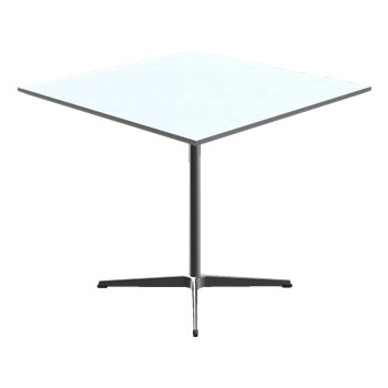 Square Pedestal Base Table
