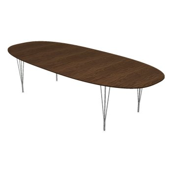 Super-Elliptical Span Leg Base Table
