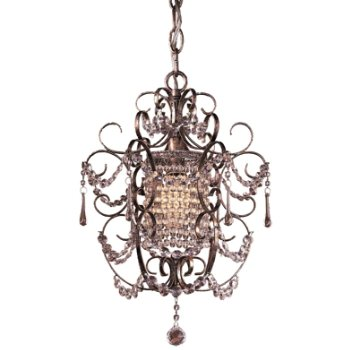 Mini Crystal Chandelier No. 3121 (Silver) - OPEN BOX RETURN