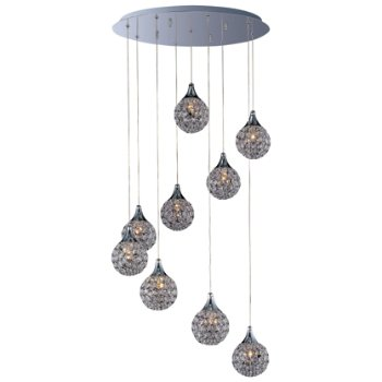 Brilliant Round Multi-Light Pendant
