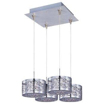 Inca Square Multi-Light Pendant