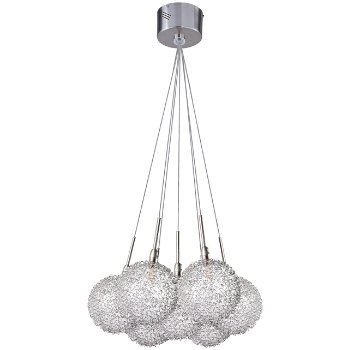 Starburst Globe 7-Light Pendant