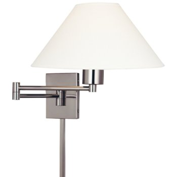 Boring Swingarm Wall Lamp (Brushed Nickel) - OPEN BOX RETURN
