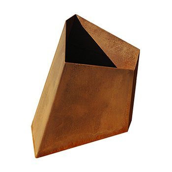 Element Planter (Corten Steel/16 inch) - OPEN BOX RETURN