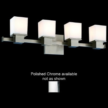 Milford Bath Bar (Polished Chrome/4 Lights) - OPEN BOX RETURN