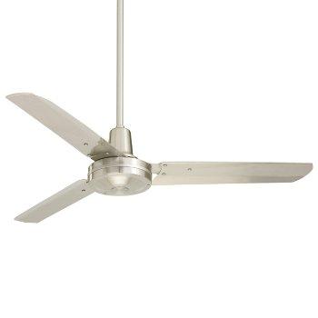"""48"""" Heat Ceiling Fan (Brushed Steel) - OPEN BOX RETURN"""