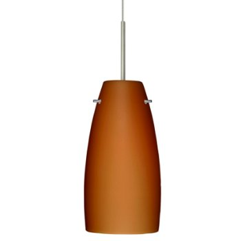 Tao 10 Pendant (Amber Matte/Satin Nickel/Flat) - OPEN BOX RETURN