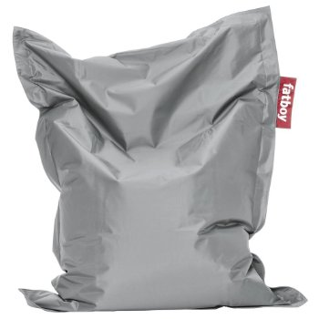 Fatboy Junior Bean Bag (Silver) - OPEN BOX RETURN