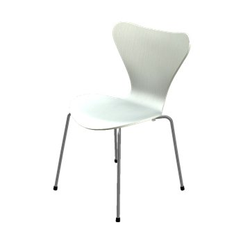 Series 7 Chair - Lacquered- Light Grey - OPEN BOX RETURN