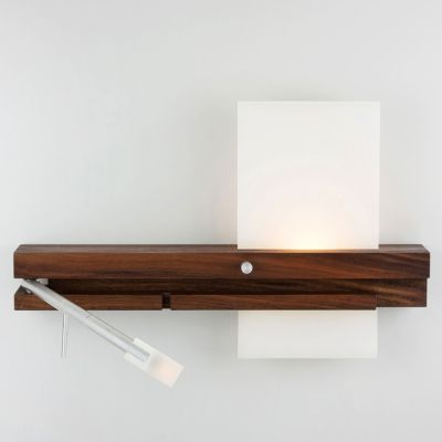 levo led sconce reading light bedside wall lighting