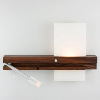 Levo LED Sconce with USB Charger