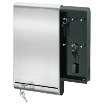 MURO Key Box and Magnetic Board (Matte Stainless Steel) - OPEN BOX RETURN